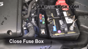 Replace a Fuse: 20042008 Nissan Maxima  2004 Nissan