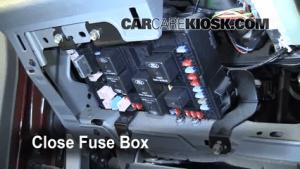 Interior Fuse Box Location: 19992007 Ford F250 Super