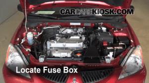 Replace a Fuse: 20022007 Mitsubishi Lancer  2005