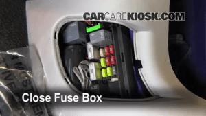 Interior Fuse Box Location: 20062007 Chevrolet Monte Carlo  2006 Chevrolet Monte Carlo LT 39L V6