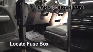 Interior Fuse Box Location: 20042008 Ford F150  2006