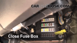 Interior Fuse Box Location: 20062009 Ford Fusion  2006
