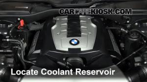 How to Add Coolant: BMW 750Li (20022008)  2007 BMW 750Li 48L V8