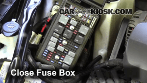 Blown Fuse Check 20052009 Buick LaCrosse  2007 Buick