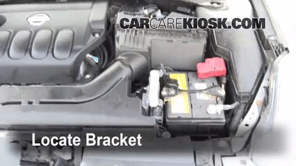 how to change a brake light on a 2007 altima