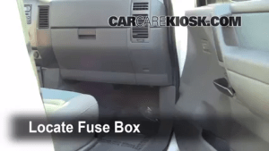 Interior Fuse Box Location: 20042015 Nissan Titan  2007