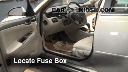 2010 chevy malibu interior fuse box location. Black Bedroom Furniture Sets. Home Design Ideas