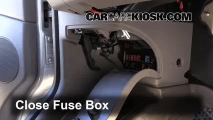 2008 Dodge Ram 1500 Interior Fuse Box Location