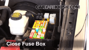 Replace a Fuse: 20072010 Ford Explorer Sport Trac  2008