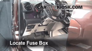 Interior Fuse Box Location: 20032011 Honda Element  2008 Honda Element SC 24L 4 Cyl