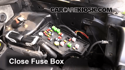 Interior Fuse Box Location 2007 2010 Jeep Compass 2008 Sport 2 0l 4 Cyl
