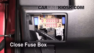 Interior Fuse Box Location: 20082013 Nissan Rogue  2008