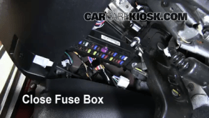 Interior Fuse Box Location: 20072013 Toyota Tundra  2007