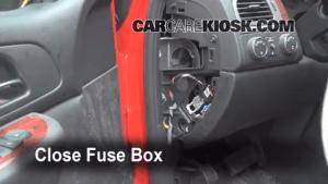 Interior Fuse Box Location: 20072013 Chevrolet Avalanche
