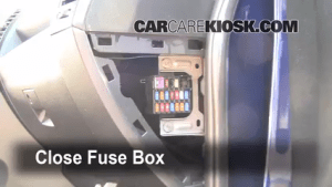 Interior Fuse Box Location: 20062010 Mazda 5  2009 Mazda