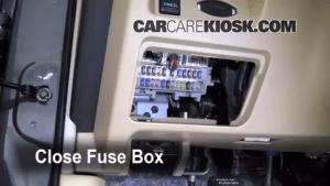Interior Fuse Box Location: 20092014 Nissan Maxima  2009 Nissan Maxima S 35L V6