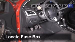 Interior Fuse Box Location: 20092015 Renault Megane