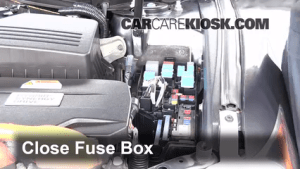 Replace a Fuse: 20072011 Toyota Camry  2009 Toyota Camry Hybrid 24L 4 Cyl