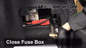 Interior Fuse Box Location: 20082015 Cadillac CTS  2010