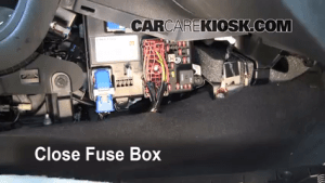 Interior Fuse Box Location: 20082012 Chevrolet Malibu  2010 Chevrolet Malibu LT 24L 4 Cyl