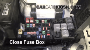 Replace a Fuse: 20102012 Ford Fusion  2010 Ford Fusion