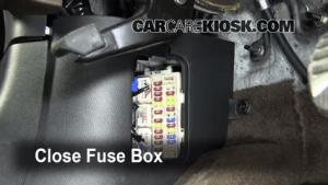 Interior Fuse Box Location: 20092012 Infiniti FX35  2010 Infiniti FX35 35L V6