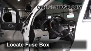 Interior Fuse Box Location: 20102015 Lexus RX350  2010 Lexus RX350 35L V6