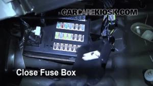 Interior Fuse Box Location: 20062012 Lincoln MKZ  2010
