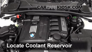How to Add Coolant: BMW 335i (20062013)  2011 BMW 335i 30L 6 Cyl Turbo Sedan (4 Door)