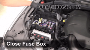 Replace a Fuse: 20112019 Dodge Durango  2011 Dodge
