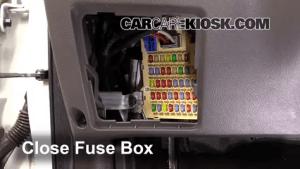 Interior Fuse Box Location: 20072012 Hyundai Santa Fe  2011 Hyundai Santa Fe GLS 24L 4 Cyl