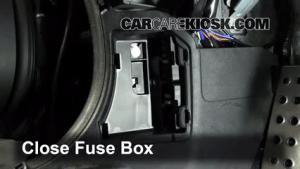 Interior Fuse Box Location: 20062015 Mazda MX5 Miata