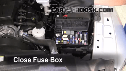 2008 Dodge Avenger Interior Fuse    Box    Location