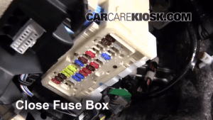Toyota Yaris Fuse Box Radio | Online Wiring Diagram