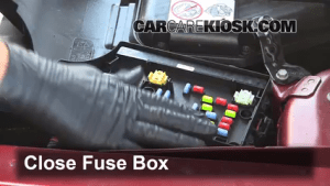 Interior Fuse Box Location: 20072017 Jeep Patriot  2010 Jeep Patriot Sport 20L 4 Cyl