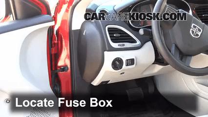 2008    Dodge    Avenger Interior    Fuse    Box Location   Brokeasshome