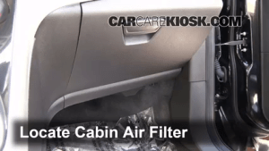 Cabin Filter Replacement: Ford CMax 20132017  2013 Ford CMax Hybrid SEL 20L 4 Cyl