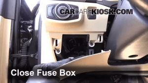 Interior Fuse Box Location: 20132018 Ford Fusion  2013