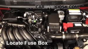 Blown Fuse Check 20122017 Nissan Versa  2013 Nissan Versa 16 SL 16L 4 Cyl