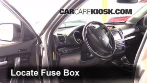 Interior Fuse Box Location: 20142015 Kia Sorento  2014
