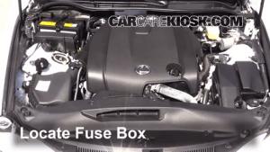 Battery Replacement: 20142017 Lexus IS250  2014 Lexus IS250 25L V6