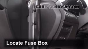 Interior Fuse Box Location: 20142017 Nissan Rogue  2014