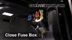 Interior Fuse Box Location: 20152019 Chevrolet Colorado