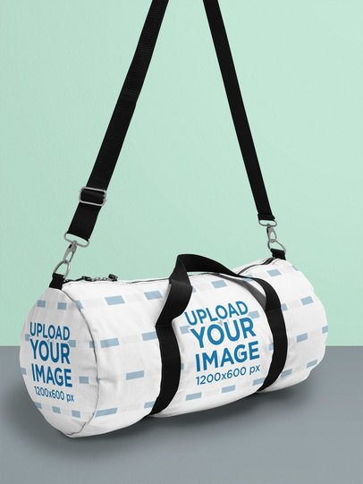 You must be searching for some designs to put on your newly launched line of sports bags. Duffle Bag Mockup Generator Try 15k Mockups For Free Placeit
