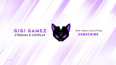 Create stunning ➧ banners for your youtube channel ⏩ crello ~ with no design skills ✍ make captivating youtube channe art free. Youtube Banner Maker Design Templates Placeit