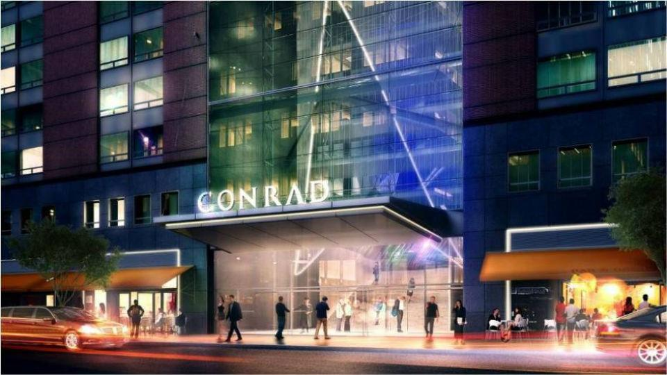 Image result for conrad hotel new york