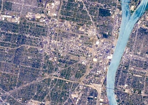 See What You Can Spot in Space Station Photo of Detroit ...