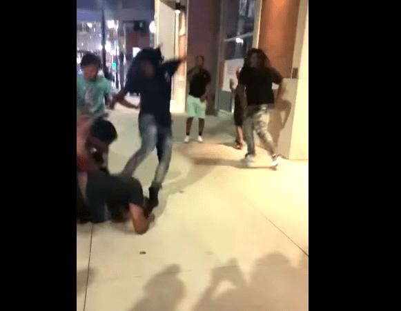 Another Brawl In Detroit's Greektown Captured On Video