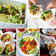 18 Vegan Burritos for 5 de Mayo. All vegan, all different, all delicious, and all at your fingertips. Yum!!!!
