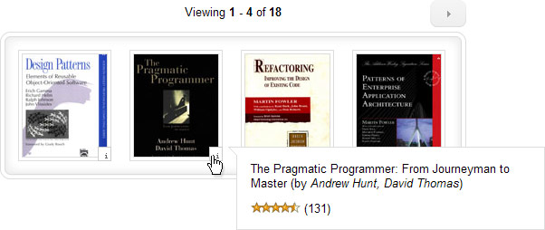 jQuery Amazon Book List